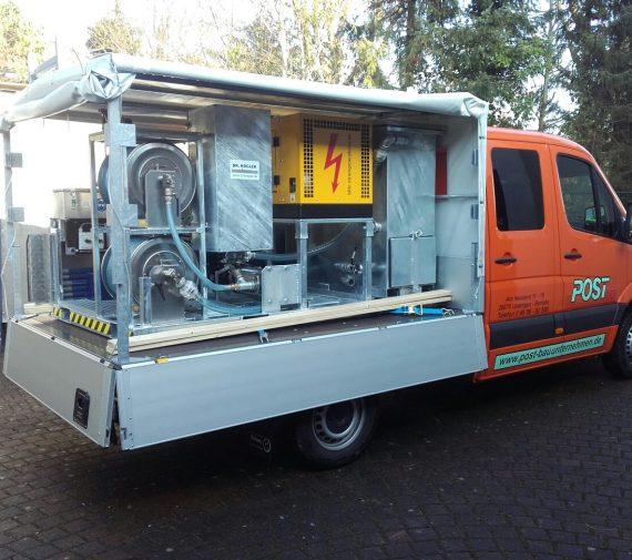 easy2jet Typ B, z.B. auf Transporter